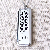Diffuser Necklace - Faith